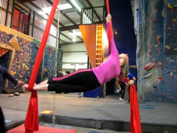 "A spin on the ""silks"""