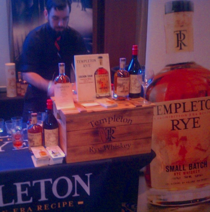 Busting out some super swanky cocktails at Templeton Rye.