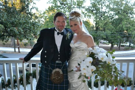 12/22/12 Our family wedding at the Partridge Inn in Augusta, GA