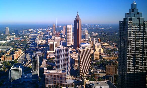 the ATL, from 73 stories up.