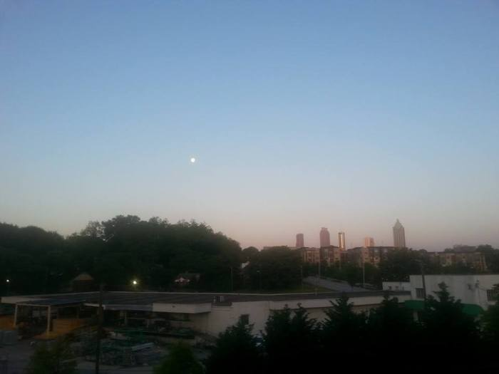 Moonlight fading into sunlight #100happydays #day12