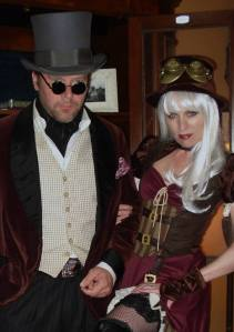 Last year's Steampunk costume