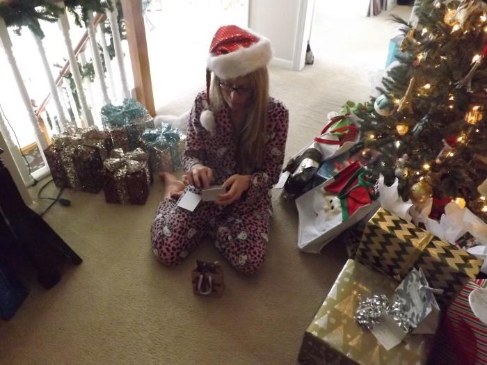 Playing Santa at the family tree