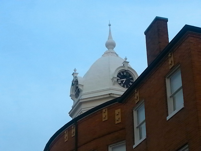Clocktower of the old courthouse