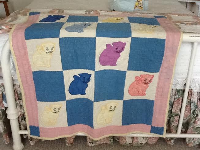 Aunt Shirley's family quilt
